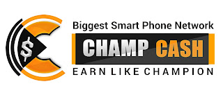 Champcash is an Android Application Through which Anyone Can be a Millionaire By Just Installing Some Apps in Mobile.Just Refer Champcash to Your Friends and Ask them to Complete the Challenge By installing 8-10 Apps