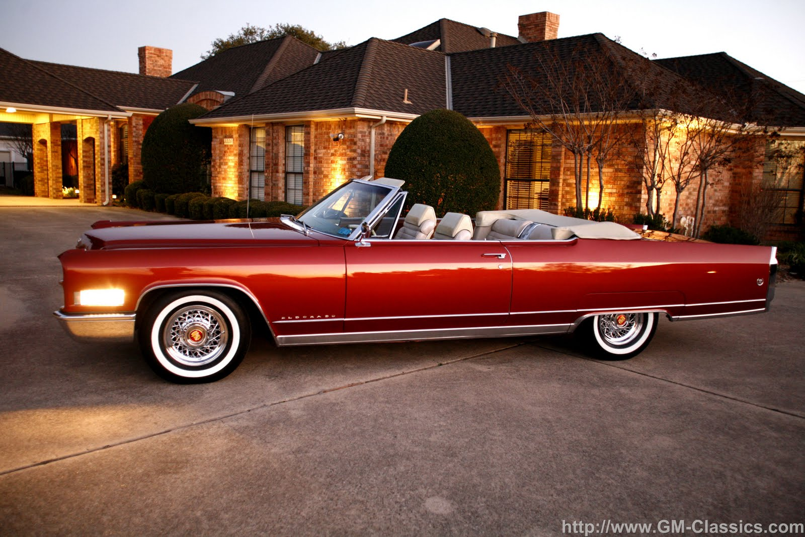 how old is a classic car: The 1966 Cadillac Convertible is \