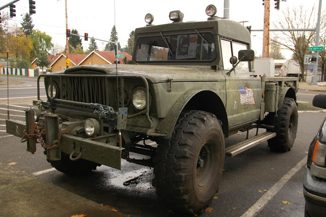 Jeep Military Gladiator Pickup Truck on Kaiser Military Vehicles