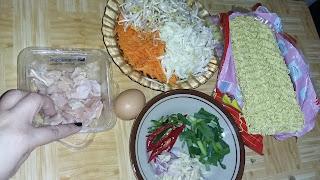 Resep  Mie goreng Ayam Bukan Indomie