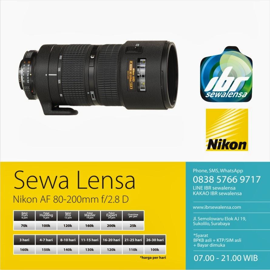 Nikon AF 80-200 f2.8 D