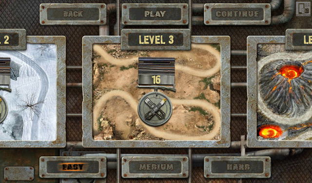 Аналог Fieldrunners уровень игры 3