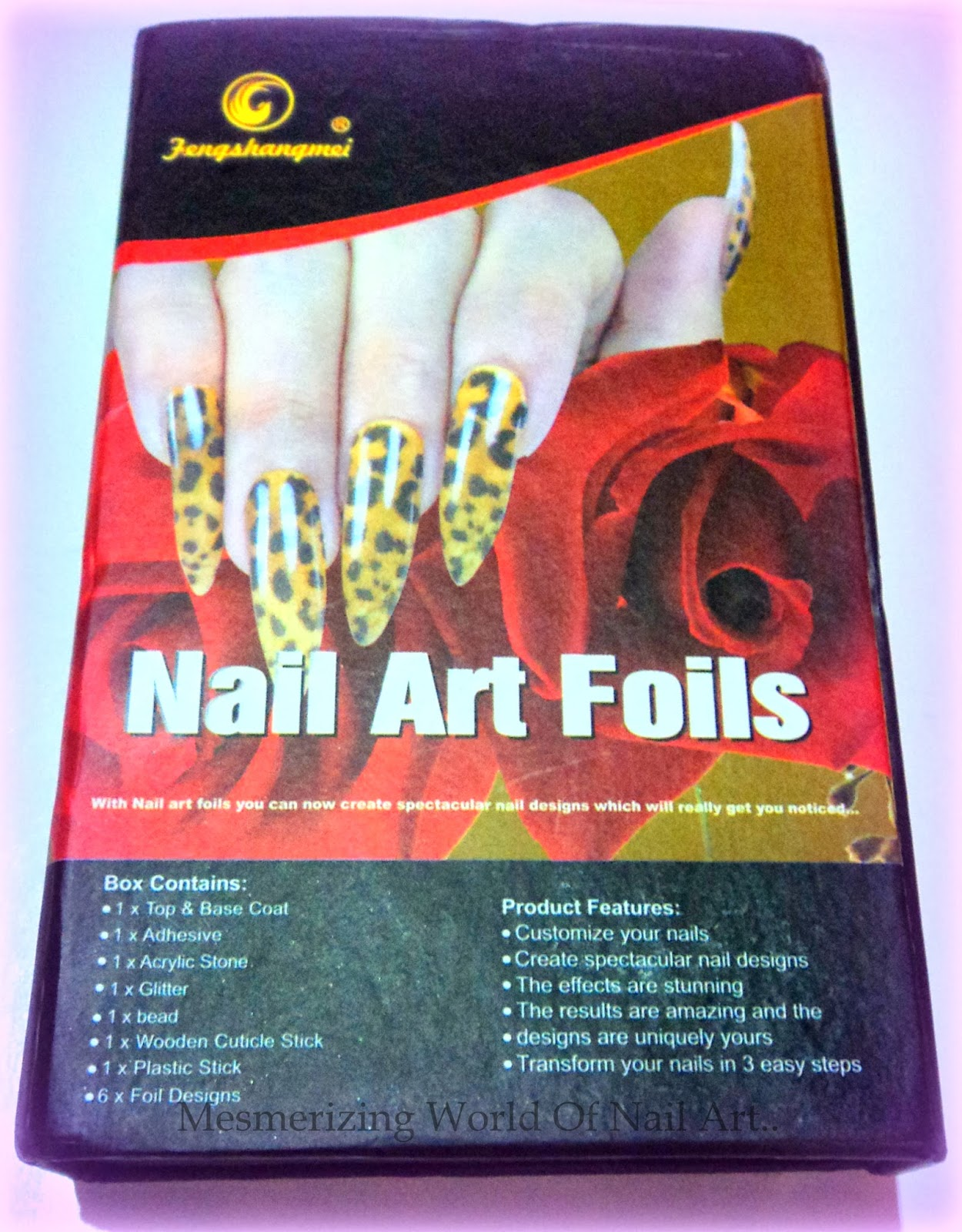 Bornpretty Store Nail Art Roll Foils Set