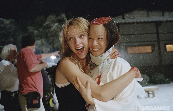 kill bill uma thurman lucy liu