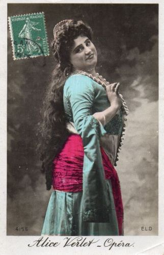 GREAT BELGIAN SOPRANO ALICE VERLET (1873-1934) CD
