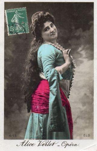 GREAT BELGIAN SOPRANO ALICE VERLET (1873-1934) CD
