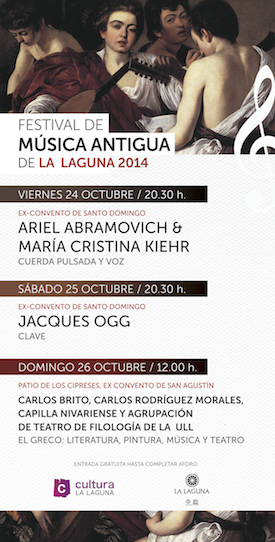 """Festival de Música Antigua de La Laguna"" '"