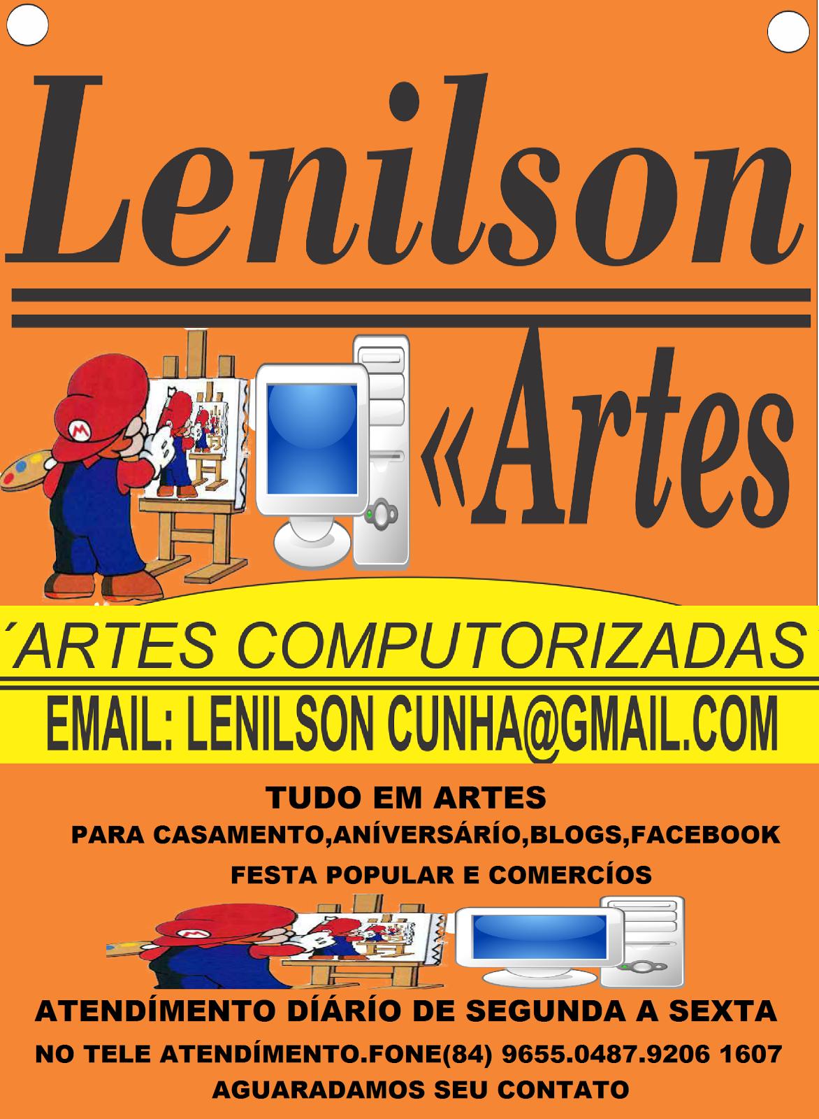 LENÍLSON ARTES  TUDO EM ARTES PARA VC.