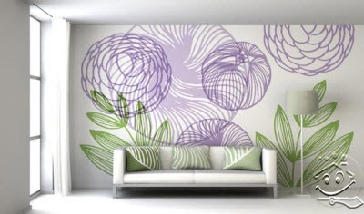 Beautiful wall decor living room by paintwall - Latest beautiful wall decoration ...