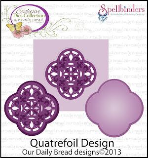 ODBD Custom Quatrefoil Design Die