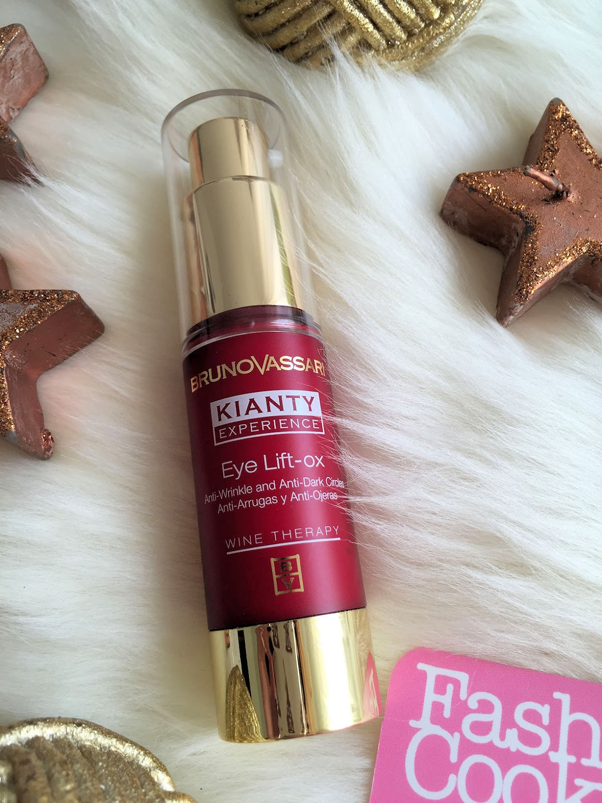 Bruno Vassari Kianty Experience Eye Lift-Ox on Fashion and Cookies beauty blogger, beauty blog review