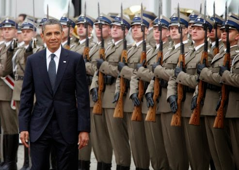 Military News - Obama to urge Europe to keep up pressure on Russia