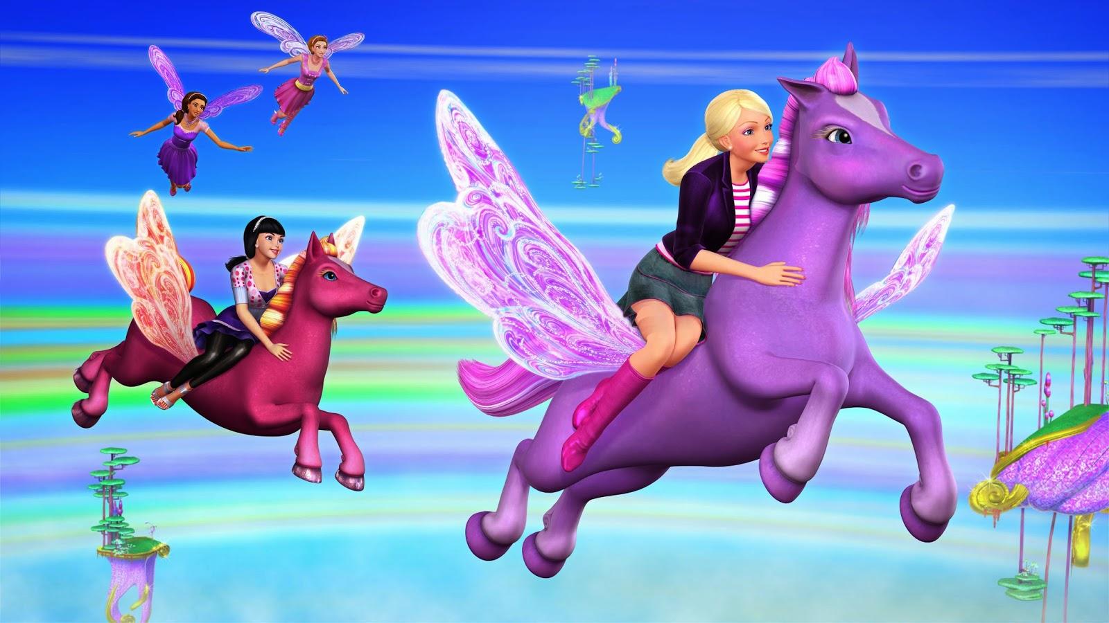 Online barbie a fairy secret games