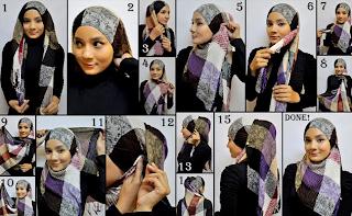 Memakai Jilbab Hijab Style