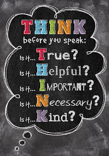 Chalk It Up! Inspire U Poster, THINK, classroom poster, classroom decor