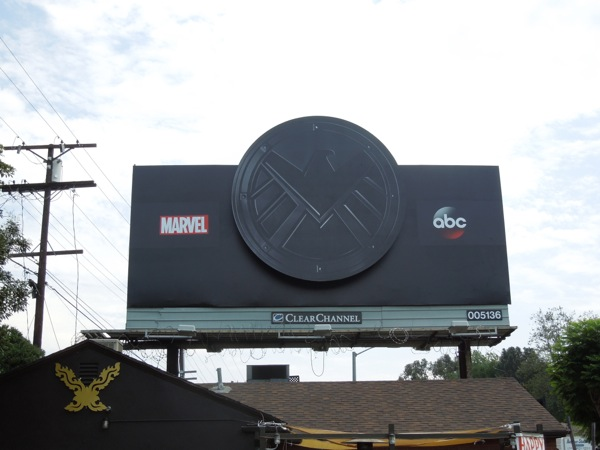 Marvels Agents of SHIELD ABC teaser billboard
