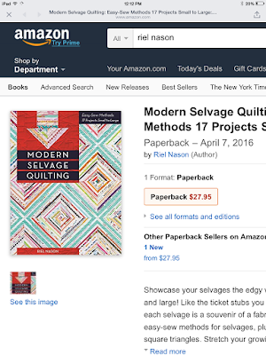 http://www.amazon.com/Modern-Selvage-Quilting-Easy-Sew-Projects/dp/1617450839/ref=sr_1_1?ie=UTF8&qid=1441026183&sr=8-1&keywords=modern+selvage+quilting&pebp=1441026185007&perid=0JMD7A30DR7BYD8EC1C3