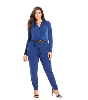 Enterito azul plus size - bebloggera - pamela victoria - mujeres xl - asesoría