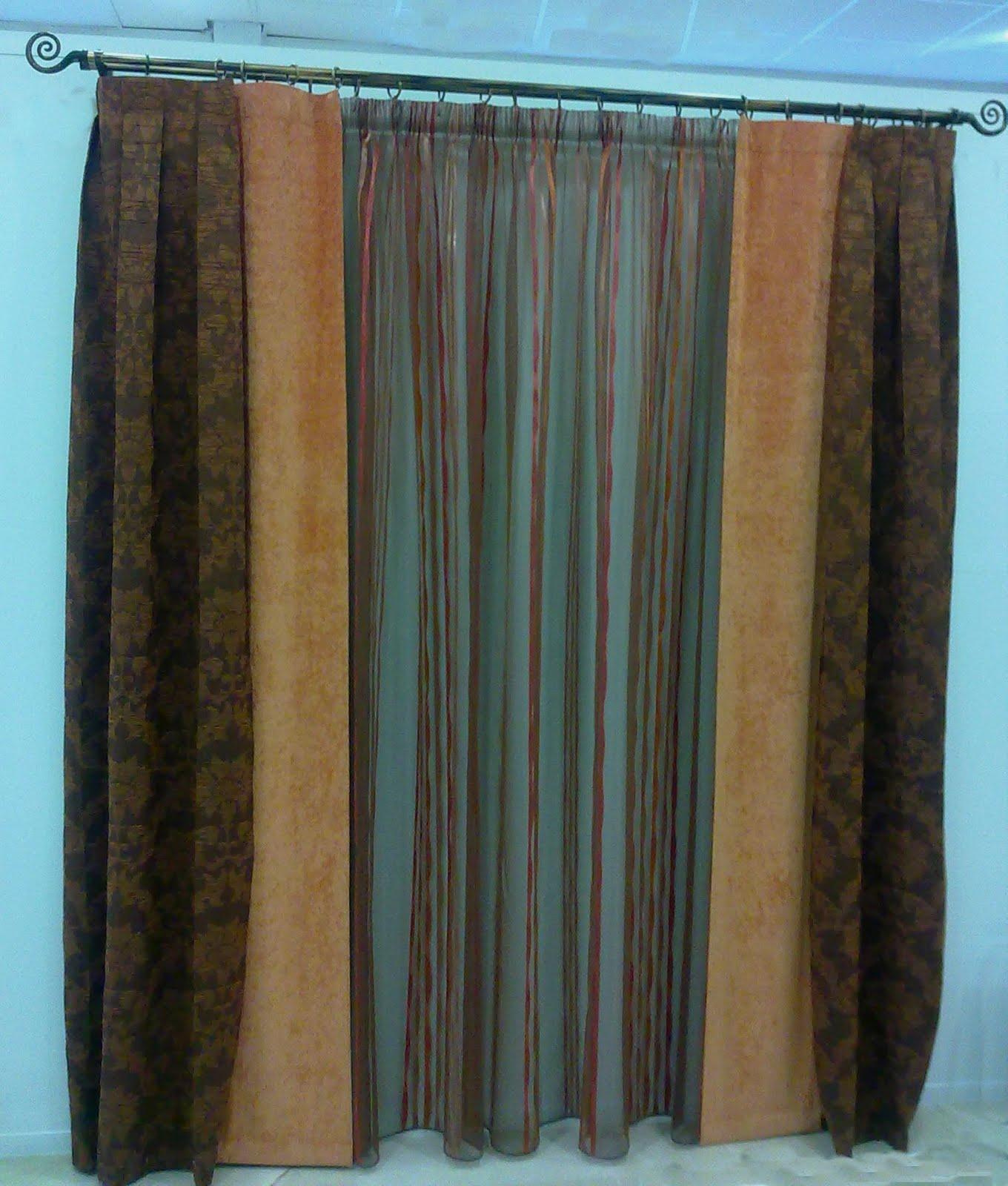 Pin cortinas y visillos brico group online on pinterest - Visillos y cortinas ...