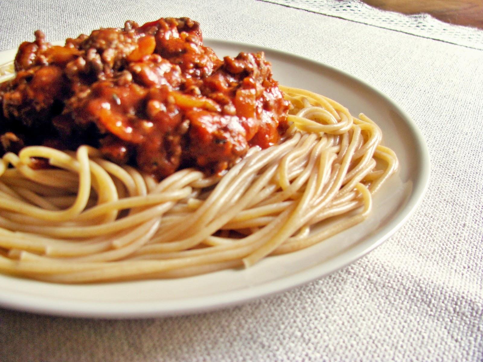 Jedzenie biegacza, czyli najlepsze spaghetti