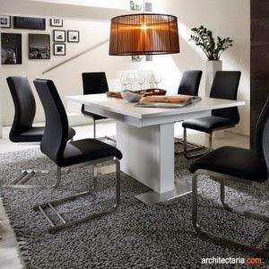 memilih meja makan untuk dapur berukuran minimalis rumah