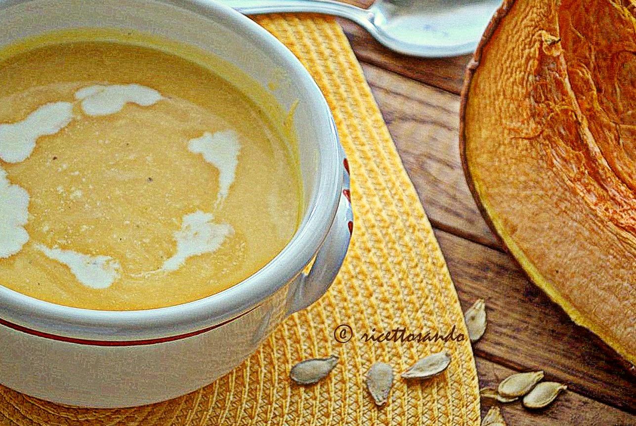 Crema o vellutata di zucca ricetta primi di verdura