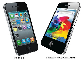 Spesifikasi dan harga Nexian Magic A893