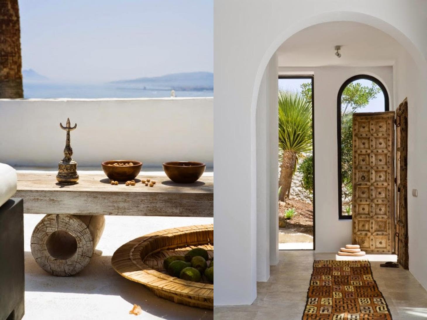 Decoraci n f cil una casa de estilo tnico en marbella - Estilo etnico decoracion ...