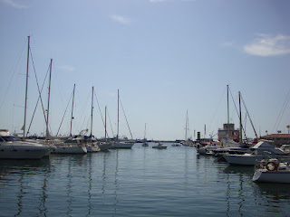 Sant Carles de la Rápita beautiful Port and boats Photo - Tarragona - Spain