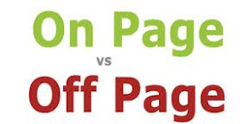 seo on page vs off page