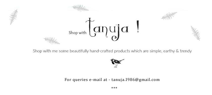 Tanuja's Shop!