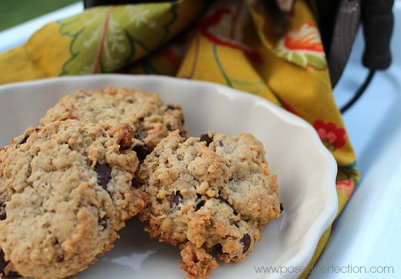 These Farmhouse Oatmeal Cookies are such an easy treat to whip up! Mix in your favorite chips and nuts!