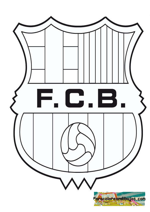coloring pages barcelona fc tickets - photo#12