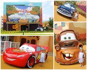 We then headed to Downtown Disney to shop around for some souvenirs. (cars)