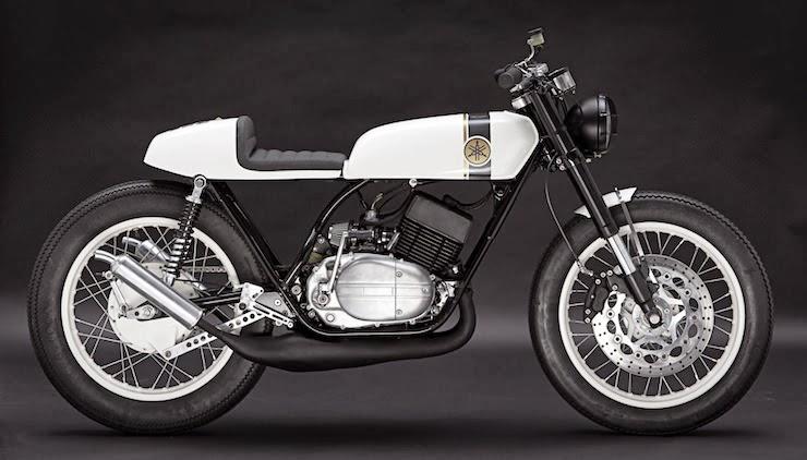 Yamaha RD250 Cafe Racer | Yamaha Cafe Racer | Yamaha Cafe Racer parts | Custom Yamaha RD250 | Two Stroke Cafe Racer | Custom Cafe Racer | Cafe Racer | way2speed.com | Yamaha RD250 Cafe Racer By Patrick Sauter