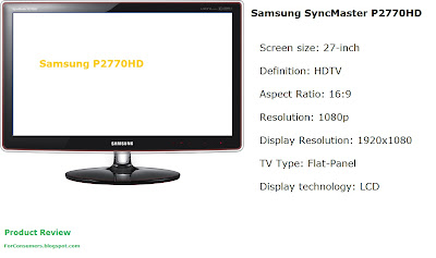 Samsung P2770HD