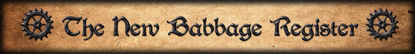 New Babbage Register