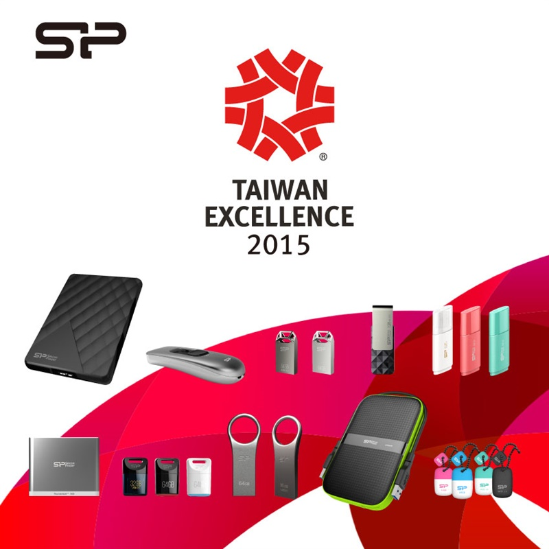 Silicon Power at Taiwan Excellence 2015
