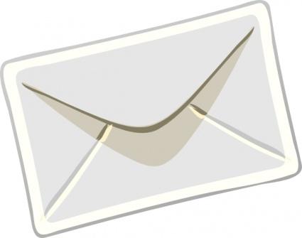 letter envelope: