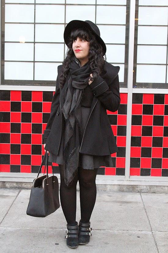Winter SF Style Blogger