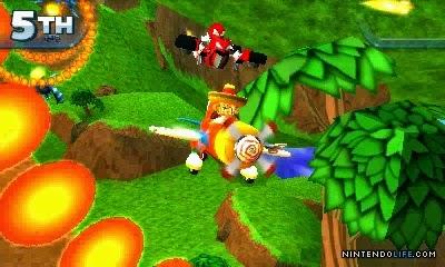 3DS Sonic All Stars Racing Transformed Screenshot