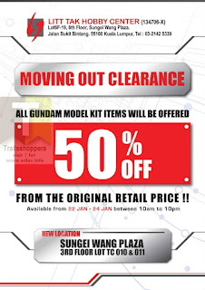 Litt Tak Hobby Center Moving Out Clearance