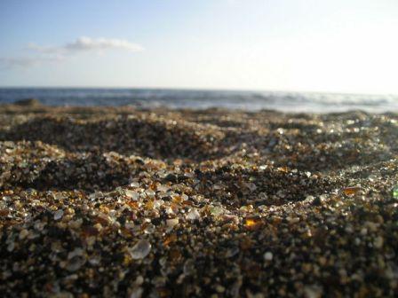 2 Pantai Berkaca di California