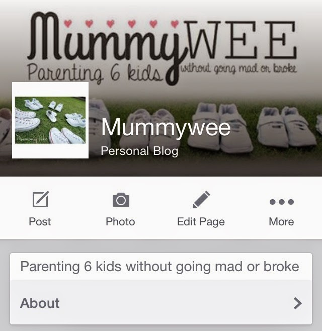 MUMMY WEE'S FACEBOOK PAGE