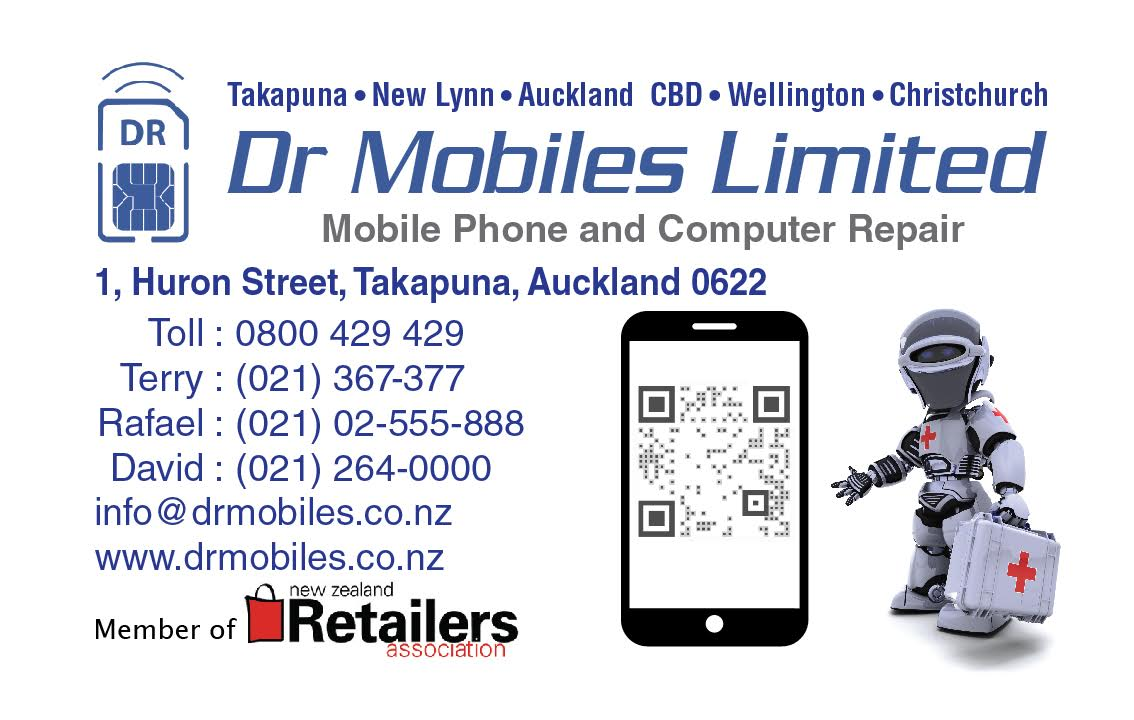 Auckland apple ipad iphone 6s repair update business card for dr update business card for dr mobiles limited october 2015 professional mobile phone and computer repair reheart Image collections