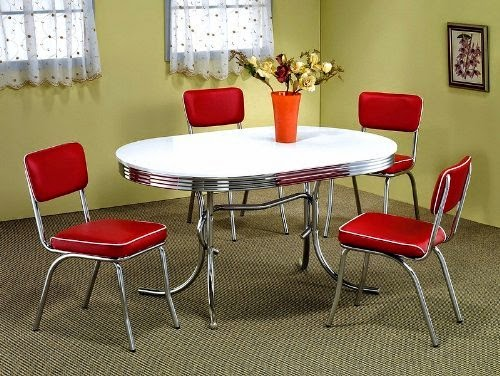 50primes soda fountain table and chairs
