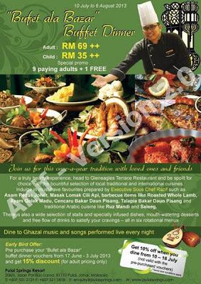 Pulai Spring Resort Buffet Ramadhan 2013