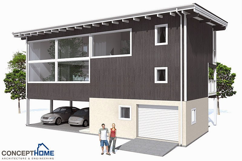 Ch98 raised beach house plan beach house plans for Raised beach house