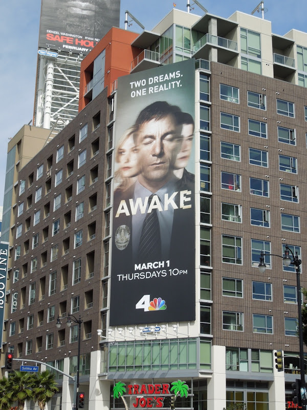 Awake TV billboard