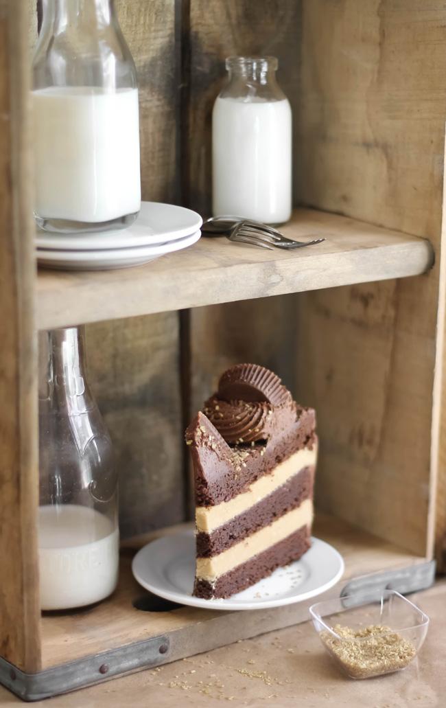 Sprinklebakes+peanut+butter+cup+brownie+cake+2